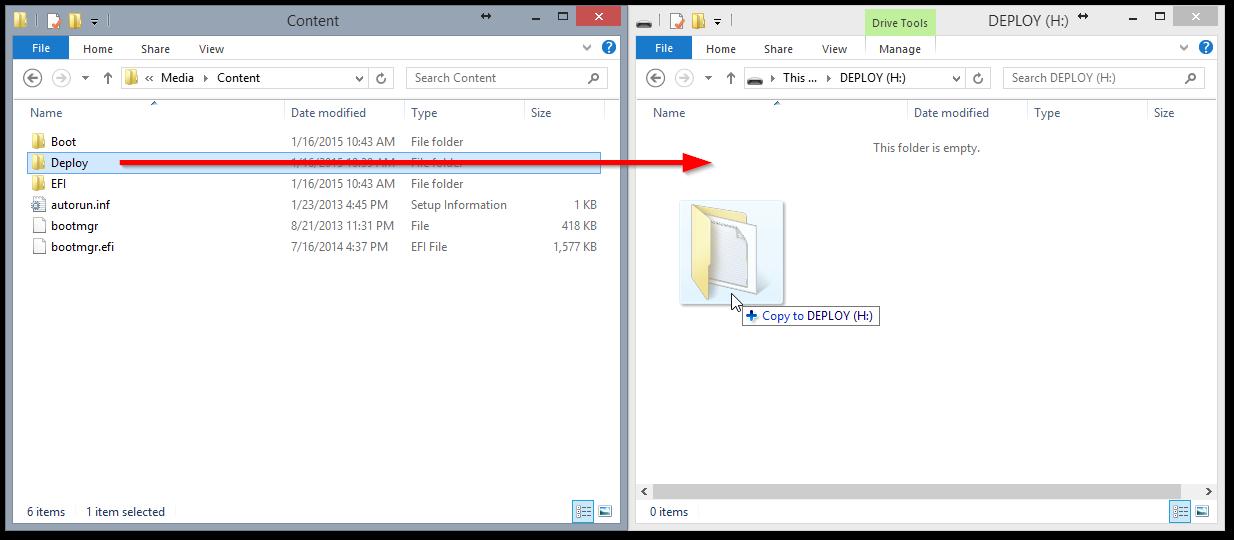 Creating Customized Windows 8 1 Media (ISO, WIM, Flash Drive