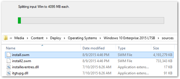 Windows 10 Brings Back Split WIM Support – Final Thoughts from IT