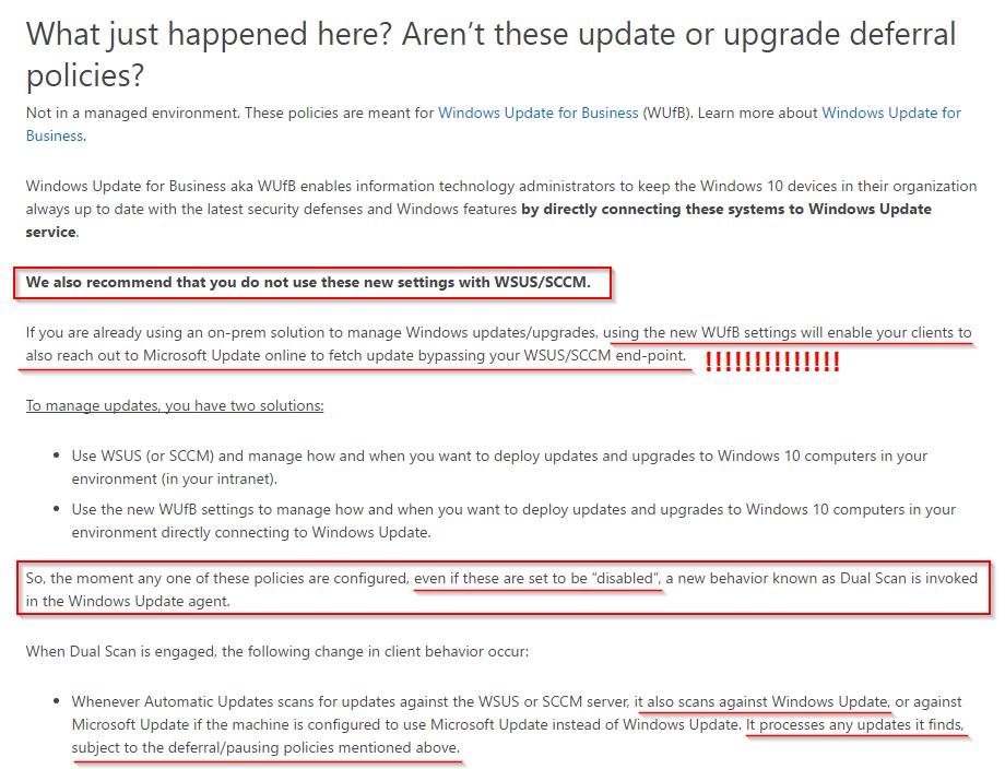 windows 10 registry key wsus server
